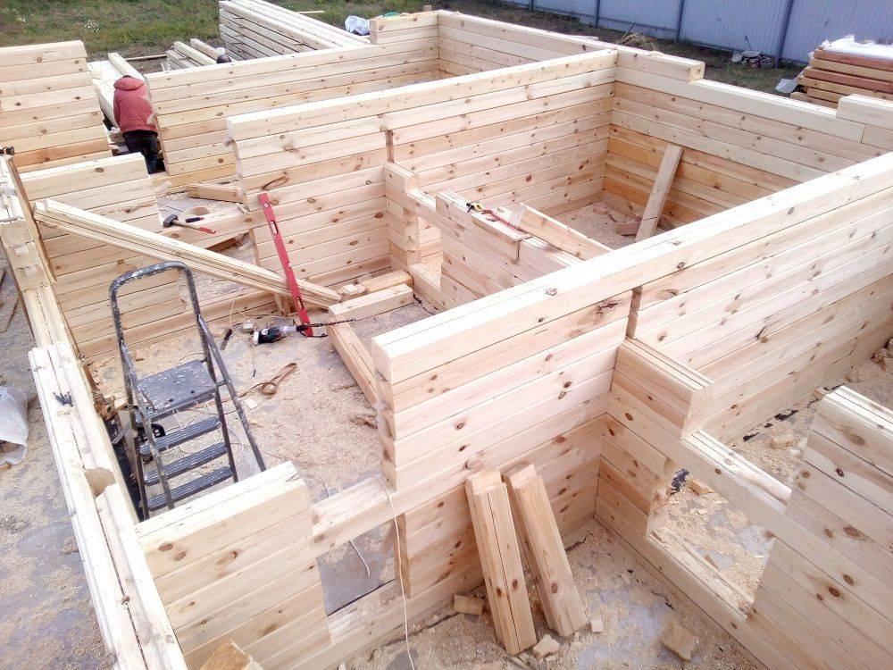 Дом из бруса своими руками: руководство по строительству, инструкция (фото и видео)