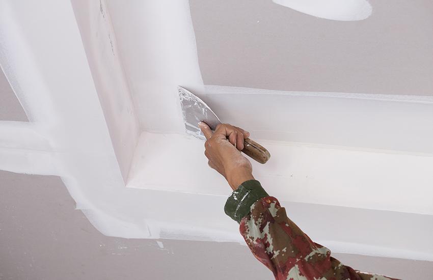 Подготовка гипсокартона под покраску: как сделать своими руками, инструкция, фото, цена и видео-уроки