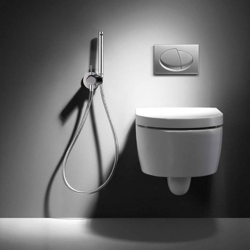 Как пользоваться гигиеническим душем в туалете