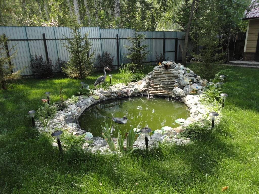 Декоративные мини-водоемы и мобильные прудики