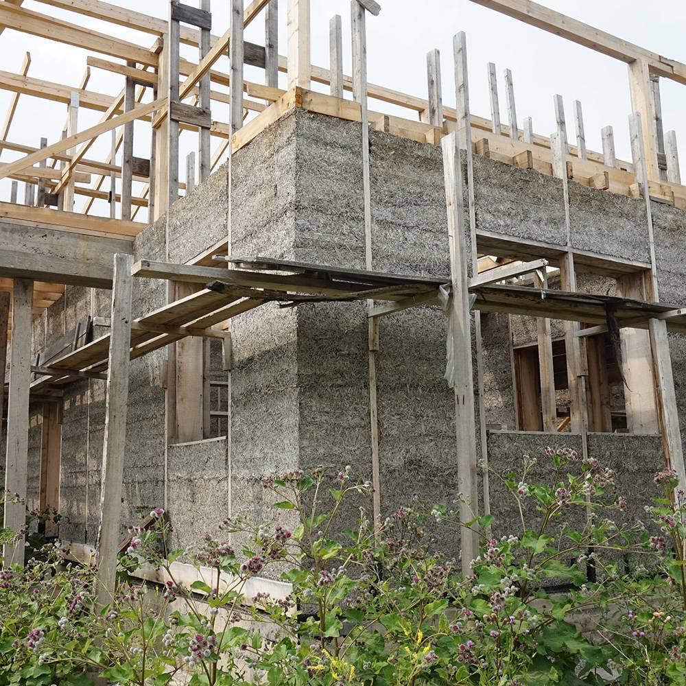 Строительство дома из опилкобетона своими руками