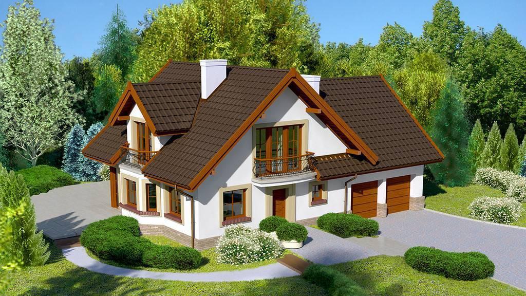 Проекты элитных домов и коттеджей
