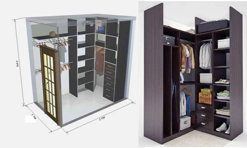 Планировка гардеробной с размерами: как правильно спланировать комнату — ivd.ru