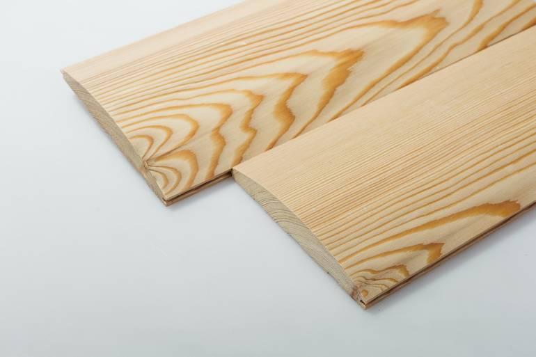 Блок-хаус из лиственницы (30 фото): размеры деревянного материала для обшивки дома, ширина и длина панели из дерева