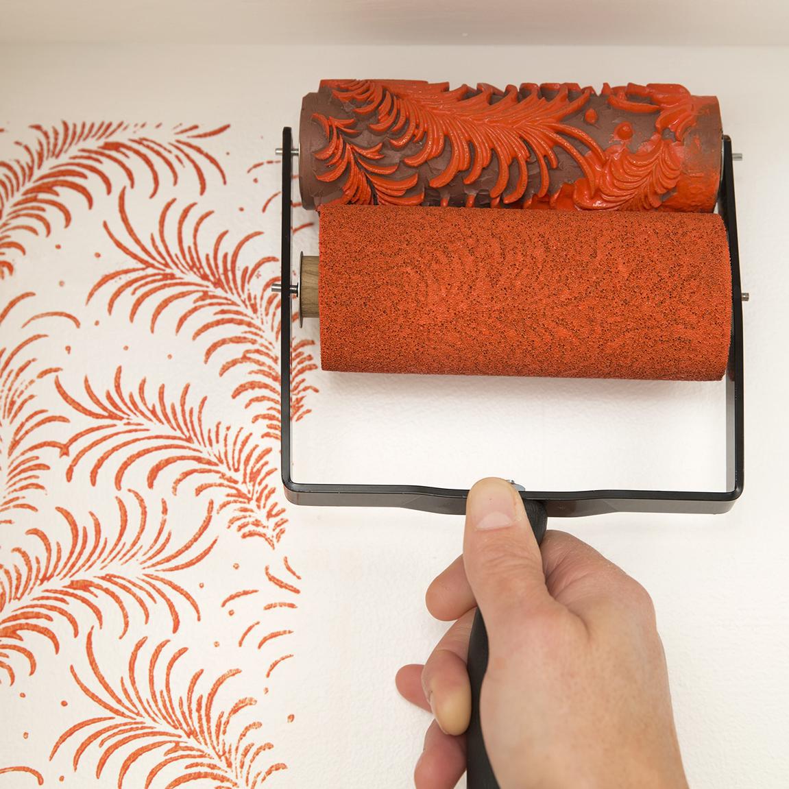 Как нанести рисунок на потолок своими руками