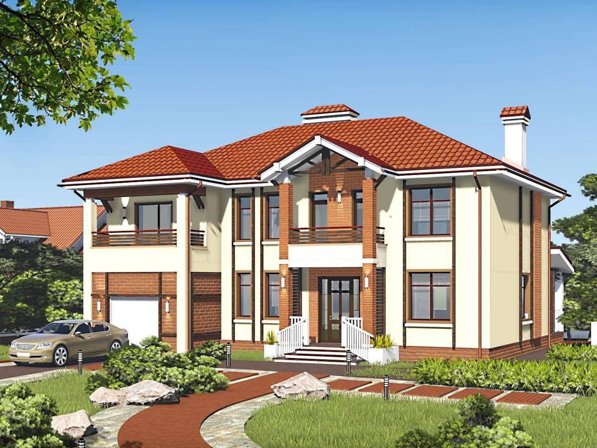 Двухэтажные дома (90 фото) - проекты и идеи дизайна