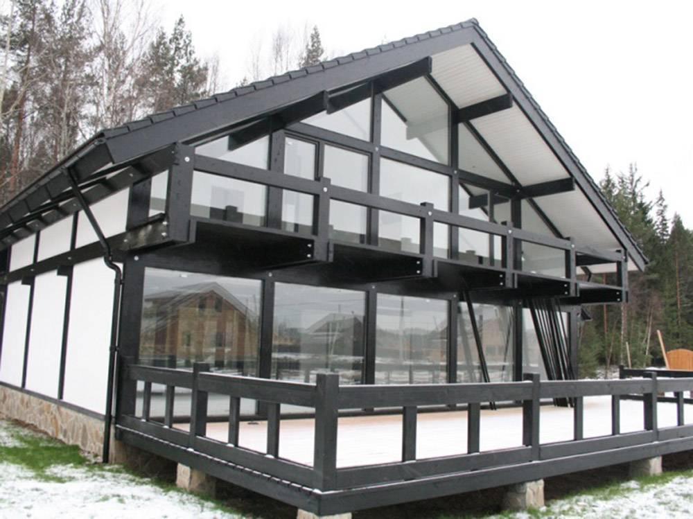 Проекты фахверковых домов и характеристики