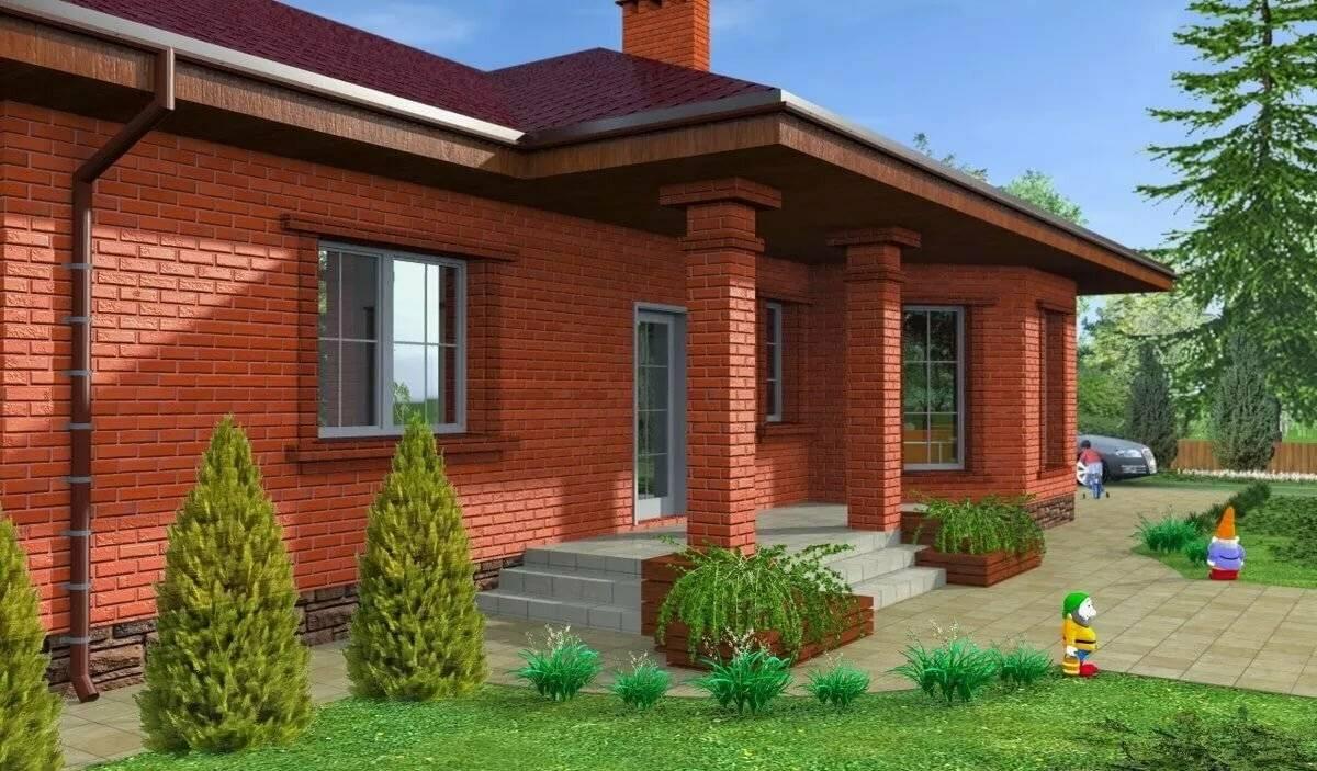 Проекты домов и коттеджей из кирпича: правильная подготовка и контроль строительства