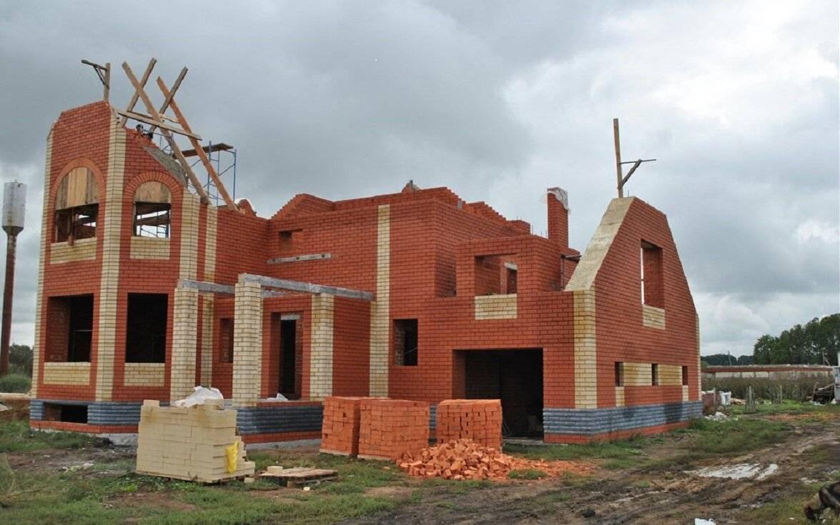 Строительство кирпичного дома своими руками – как построить дом из кирпича - инструкция
