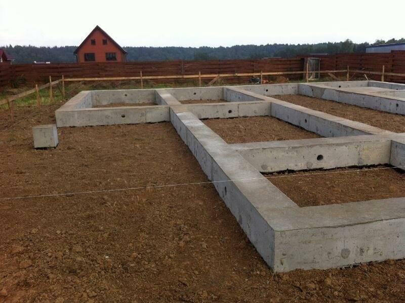 Как сделать фундамент под дом из бруса – свой дом мечты