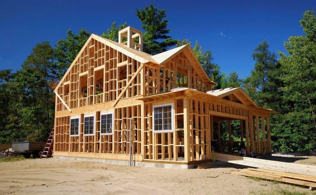 Современные деревянные дома и технология строительства