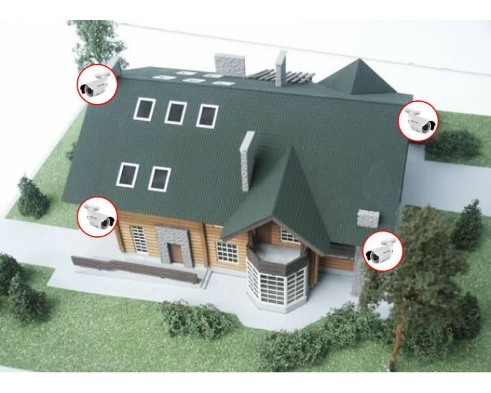 Видеонаблюдение для частного дома своими руками - строимсвоимируками.рф