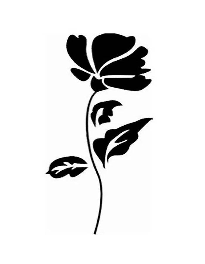 Трафареты для декора - 105 фото красивых шаблонов и оригинальных вариантов трафаретов