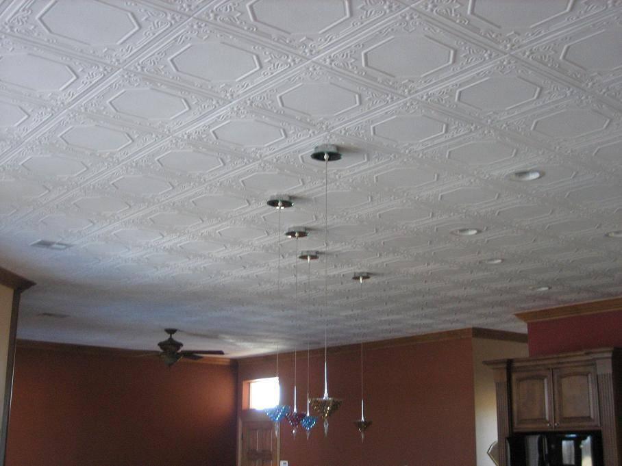 Как и чем помыть пенопластовую плитку и подвесной потолок