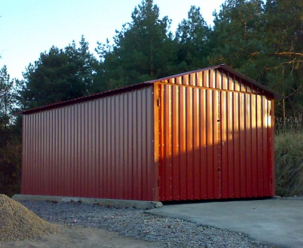 Гараж из профлиста своими руками: как построить из профнастила крышу или гараж