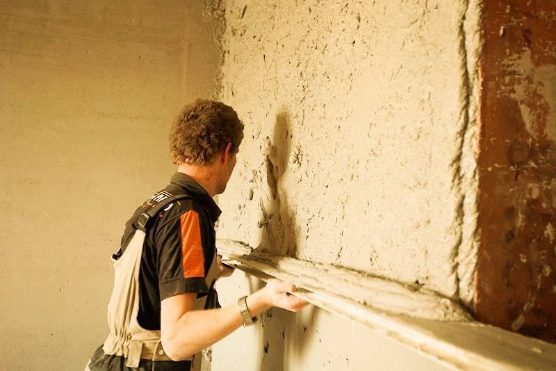 4 способа выровнять стены под внутреннюю отделку   строительный блог вити петрова