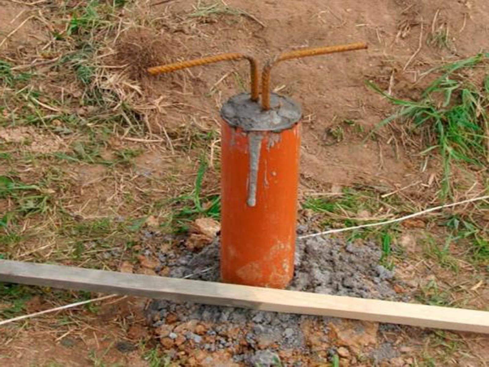 Фундамент из асбестоцементных труб своими руками - трубы и сантехника