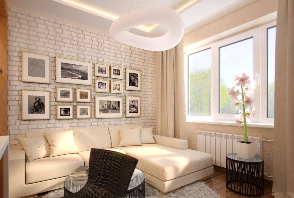 Дизайн маленькой квартиры-студии: 75 фото реальных интерьеров