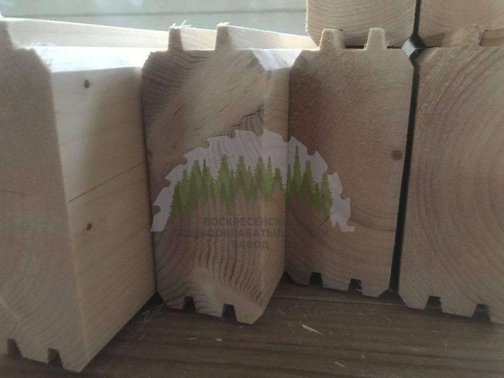 Сухой профилированный брус камерной сушки - цены от производителя и технология производства
