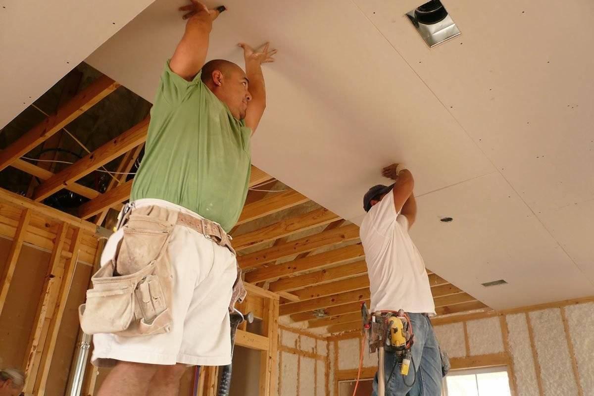 Особености обшивки стен гипсокартоном в деревянном доме