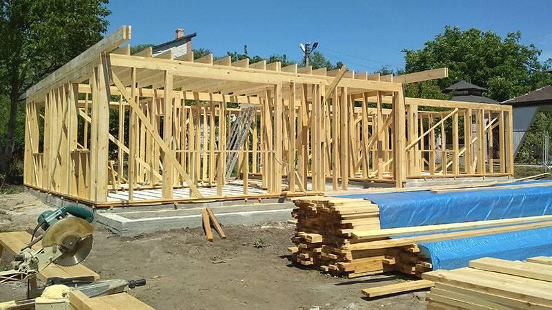 Поэтапное строительство каркасных домов по финской и канадской технологии