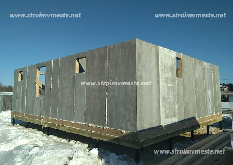 Цементно-стружечная плита – характеристики материала, применение в строительстве и отделке