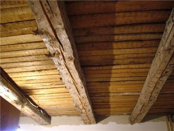 Гипсокартон на потолок в деревянном доме без каркаса длина шурупа