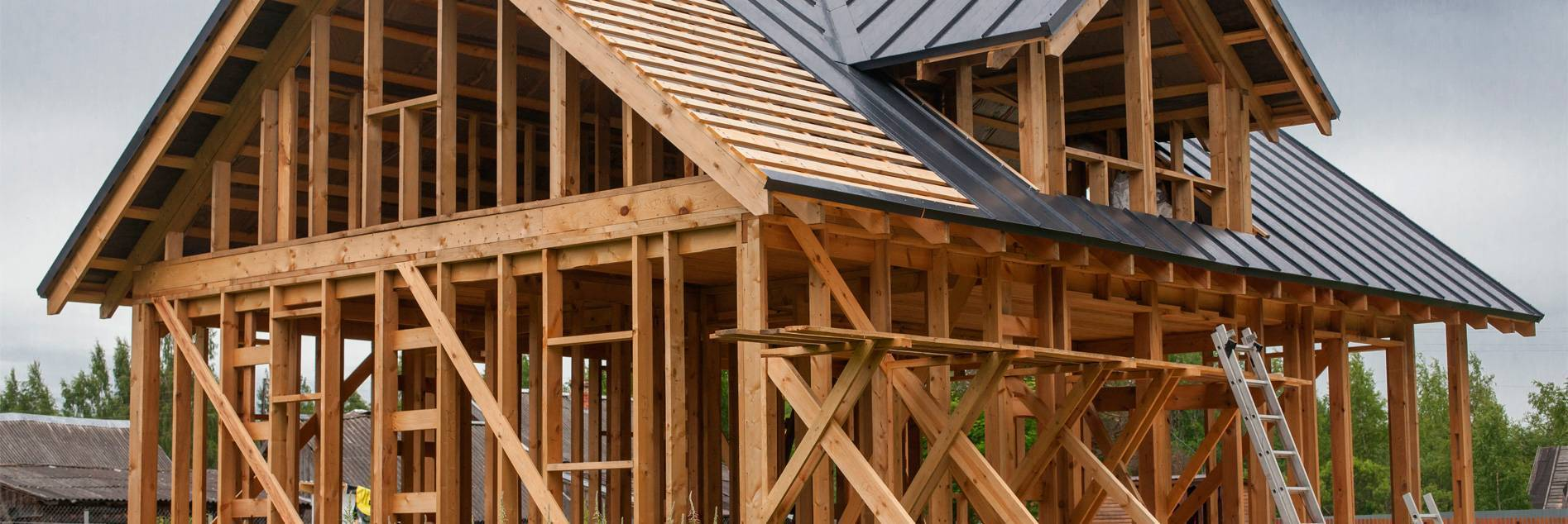 Технология строительства скандинавского каркасного дома