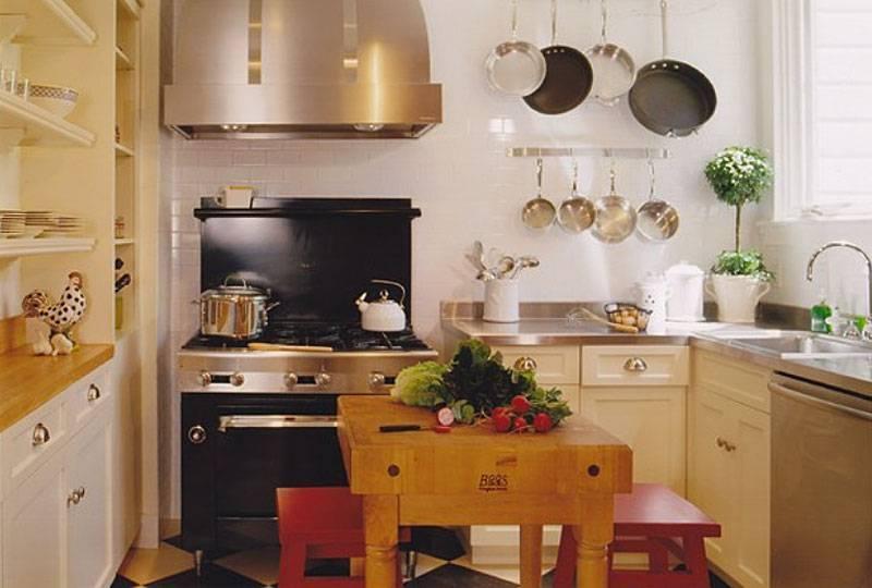 Функциональный дизайн маленькой кухни-гостиной: лучшие идеи для интерьера