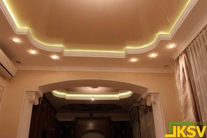 Потолок из гипсокартона без мороки - делаем своимируками!