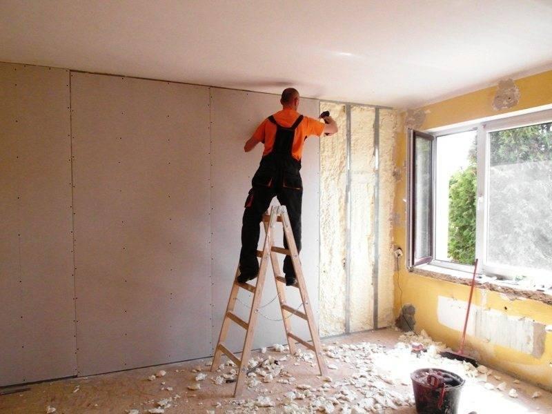 Как утеплить стены панельного дома изнутри своими руками
