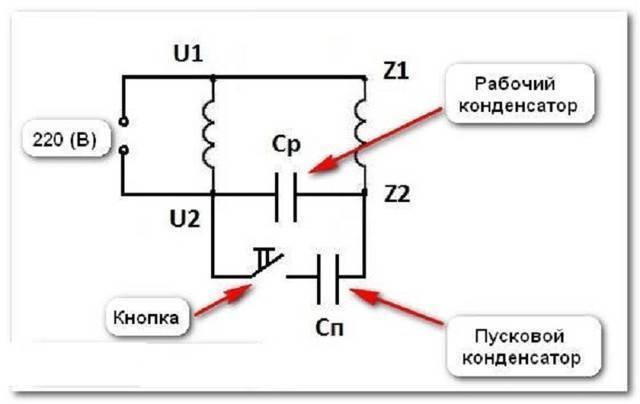 Однофазный электродвигатель 220в. схема, подключение, преимущества