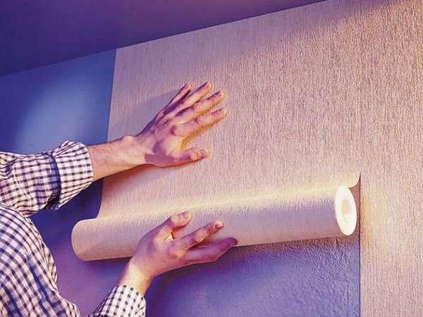 Стеклохолст под покраску (34 фото): вариант-паутинка под покраску, как красить стены без шпаклевки, технология выполнения работ, отзывы