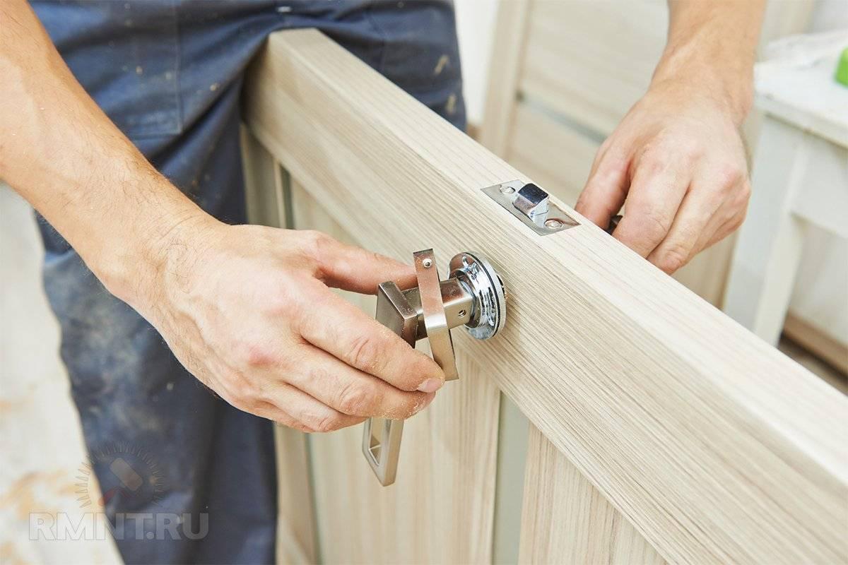 Как установить межкомнатную дверь своими руками: видео, как произвести монтаж самостоятельно