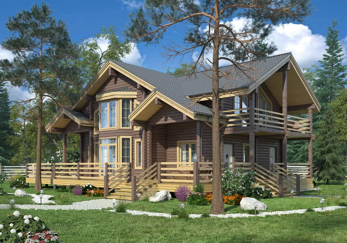 Дома из клееного бруса (173 фото): как построить одноэтажную деревянную конструкцию, плюсы и минусы, отзывы владельцев