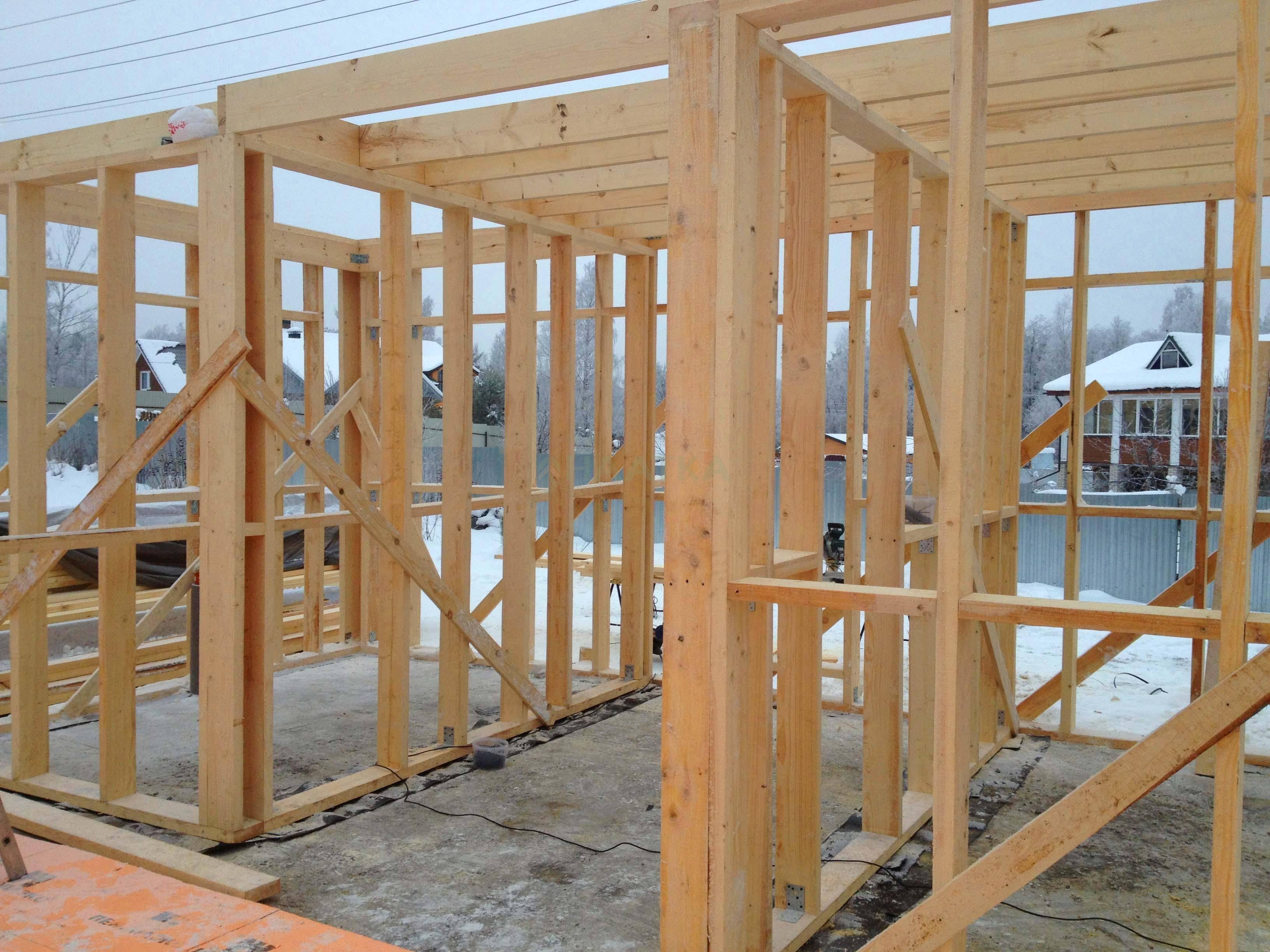 Можно ли строить дом зимой – особенности зимней стройки