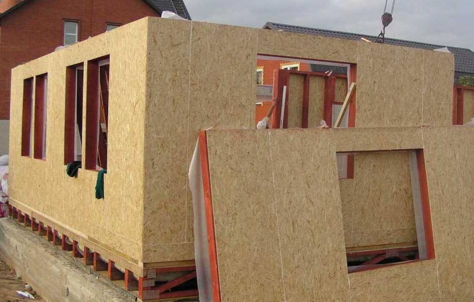 ????каркасно-панельные дома и технология строительства - блог о строительстве