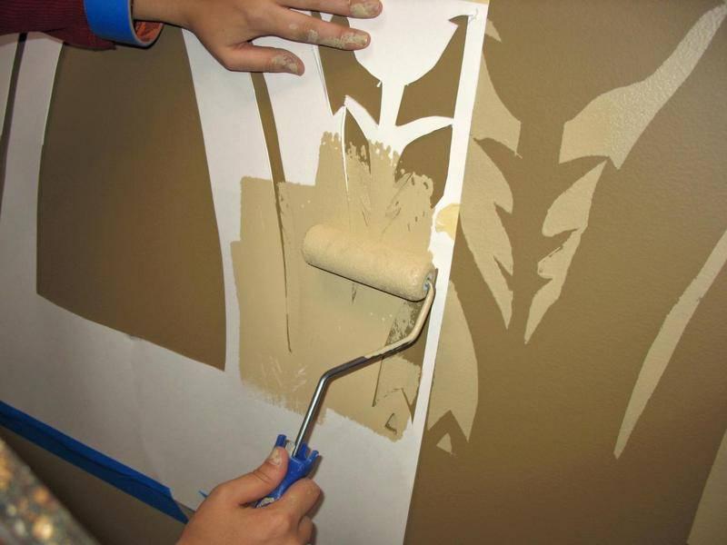 Делаем трафареты для декора потолка: фото, видео уроки своими руками