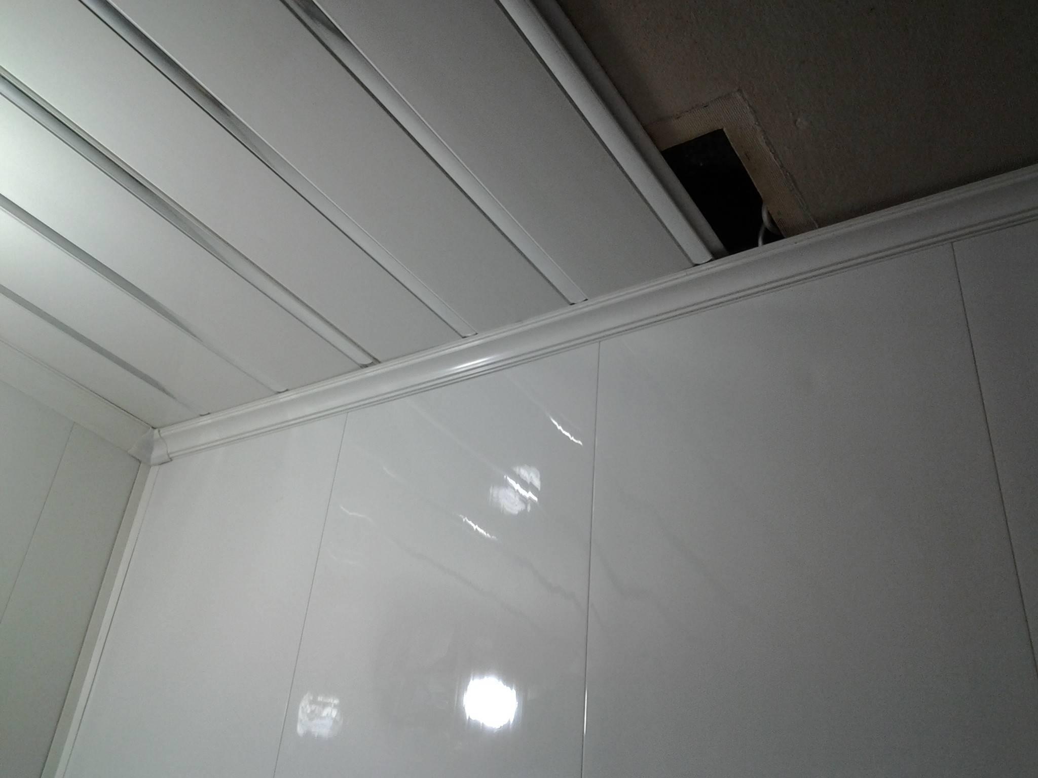 Монтаж реечного потолка в ванной комнате своими руками: инструкция + видео