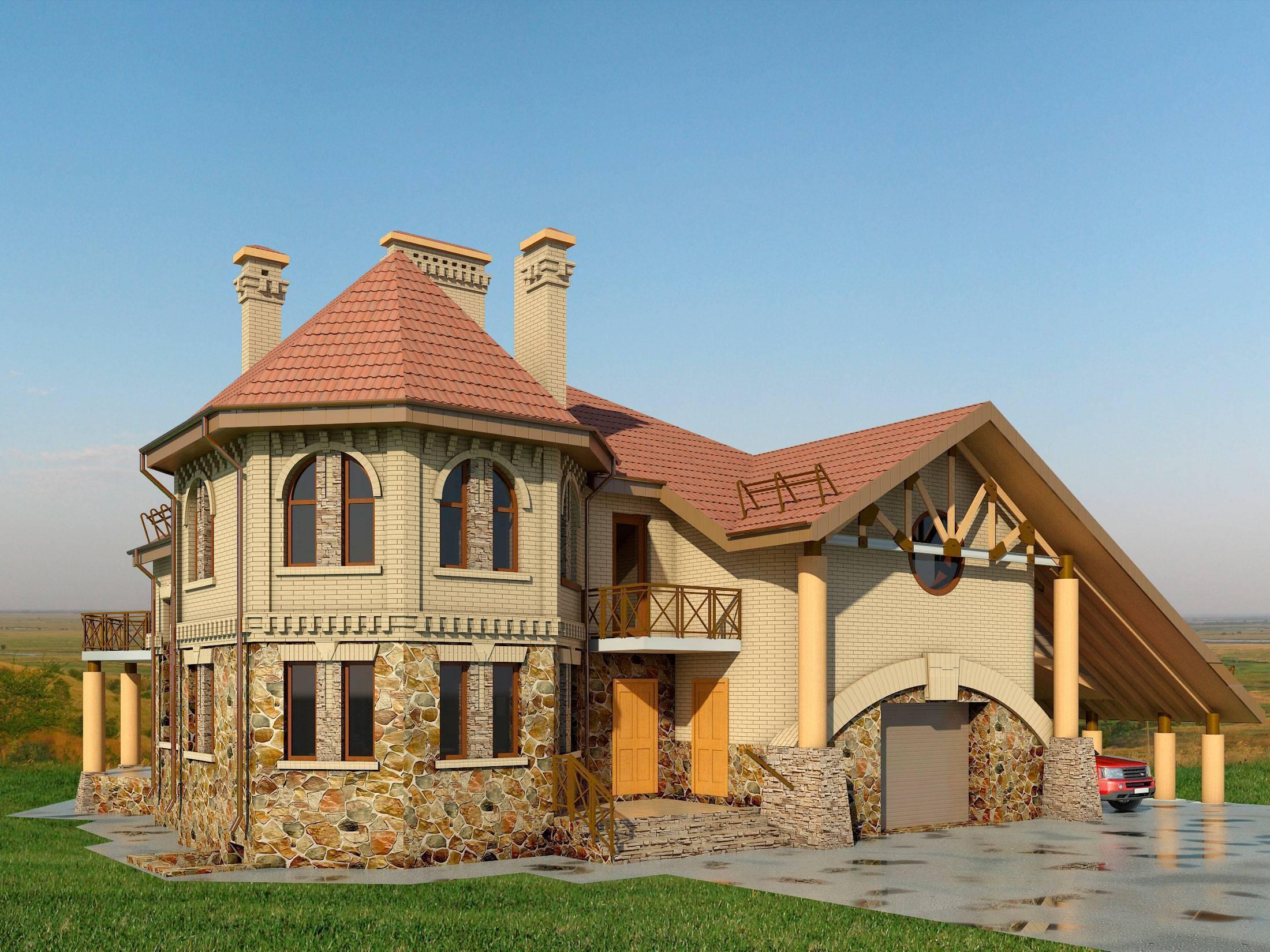 Строительство частного загородного дома своими руками - стройте сами
