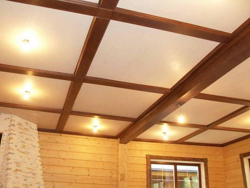 Лучшие варианты отделки потолка в частном доме