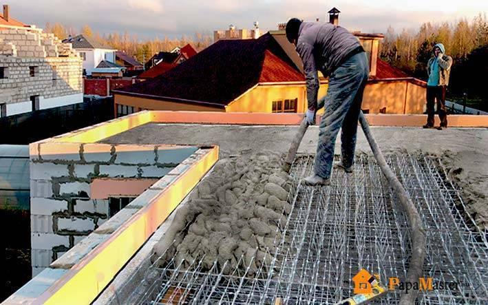 Монолитное перекрытие своими руками: чертеж и план заливки плит по пошаговой инструкции. как залить перекрытие? выбираем марку бетона