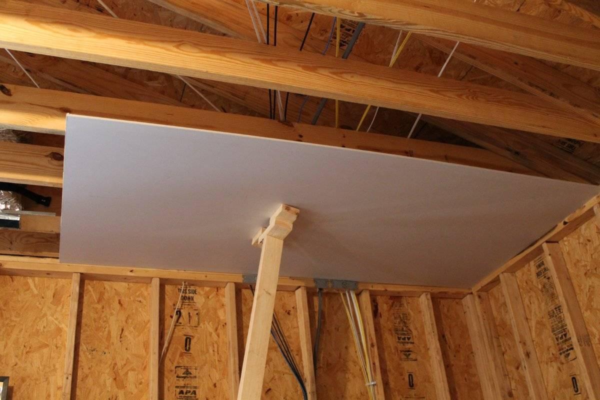 Как покрасить потолок из двп – рекомендации, фото - каталог статей на сайте - домстрой