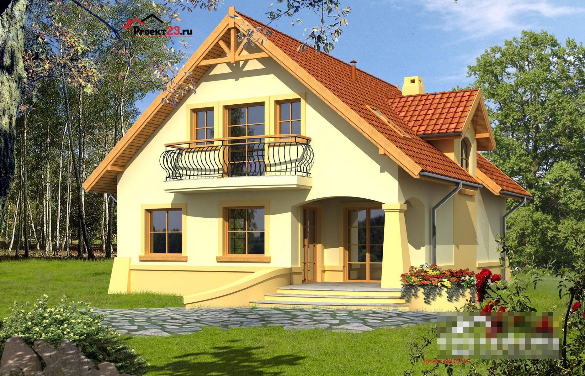 Проект дешевого дома - планировка, фасады, способы трансформации