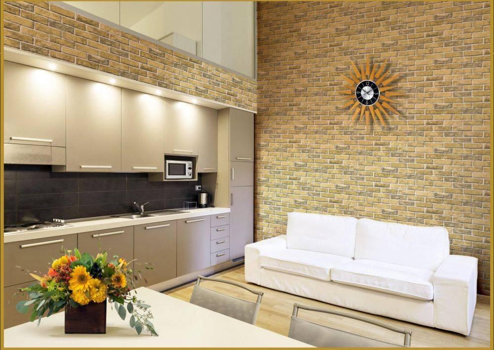 Ламинат на стене в интерьере кухни (33 фото): плюсы и минусы отделки. варианты дизайна. особенности оформления кухни стеновыми панелями