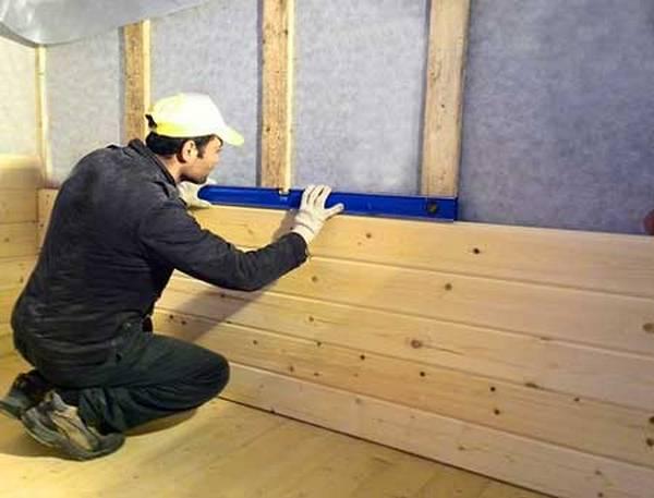 Все тонкости обшивки стен дома имитацией бруса своими руками