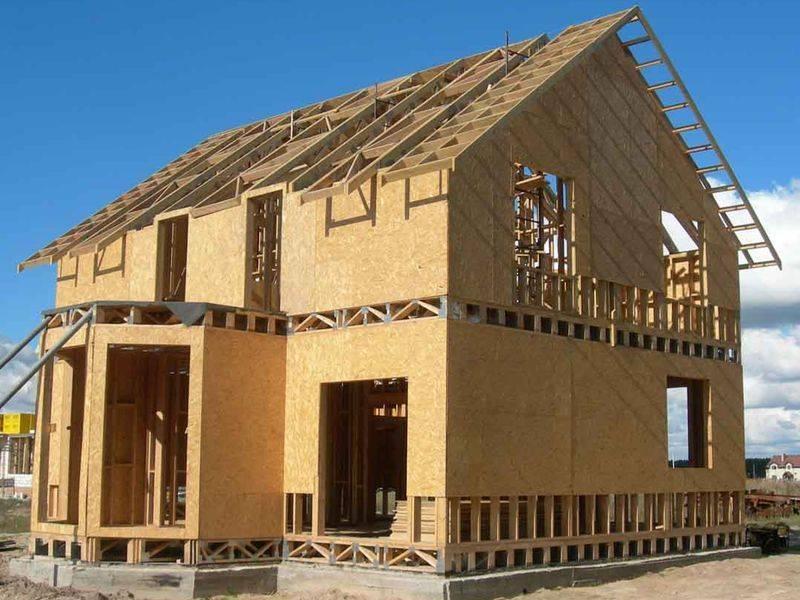 ????загородные дома, возведенные по каркасно-панельной технологии: разновидности, плюсы и минусы, ограничения - блог о строительстве