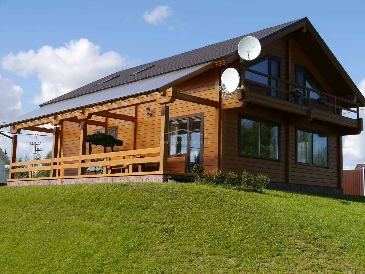 Плюсы и минусы профилированного бруса для строительства частного дома