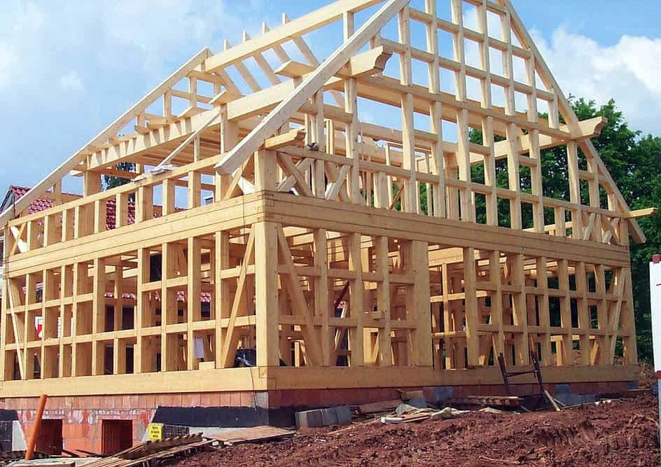 Фахверк дома – особенности и технология строительства