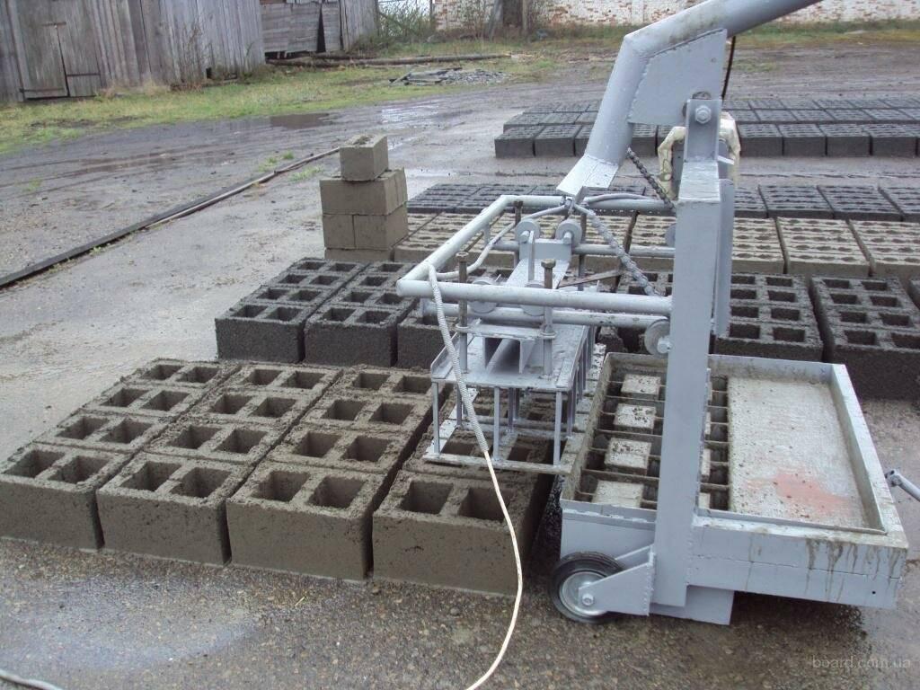 Кратко про изготовление керамзитобетонных блоков своими руками